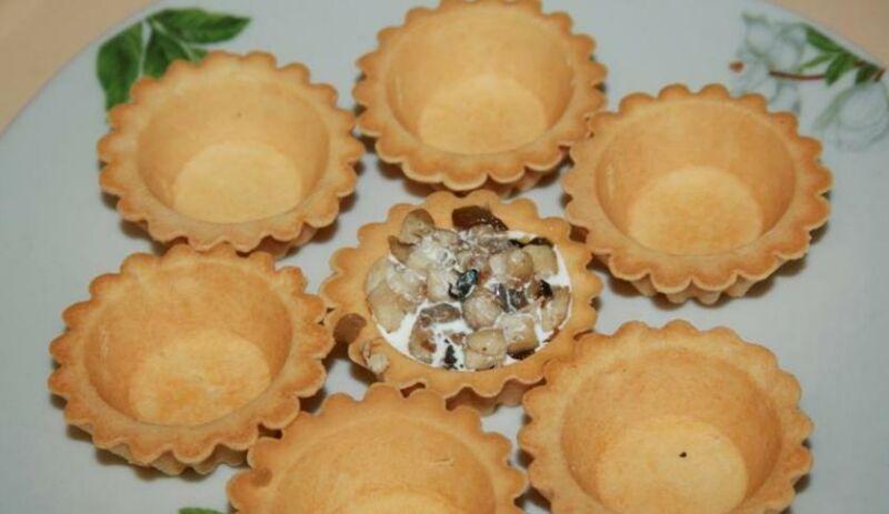 Закуски в тарталетках — 10 простых и вкусных рецептов на праздничный стол этап 50