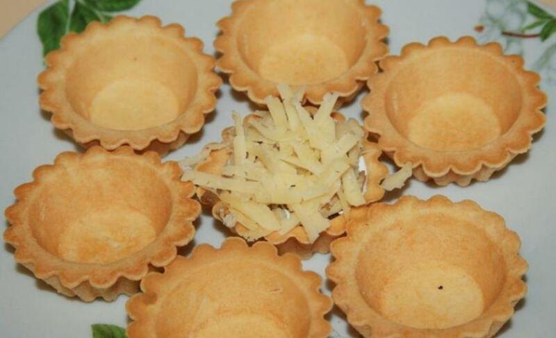 Закуски в тарталетках — 10 простых и вкусных рецептов на праздничный стол этап 51